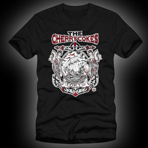 TheCherryCokes_ANCHOR_Blk_tshirt-600×600